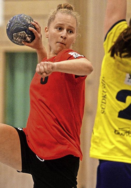 Im Drittliga-Kader der HSG noch Ergänz...praxis auf dem Feld: Alina Majcen (16)  | Foto: Seeger