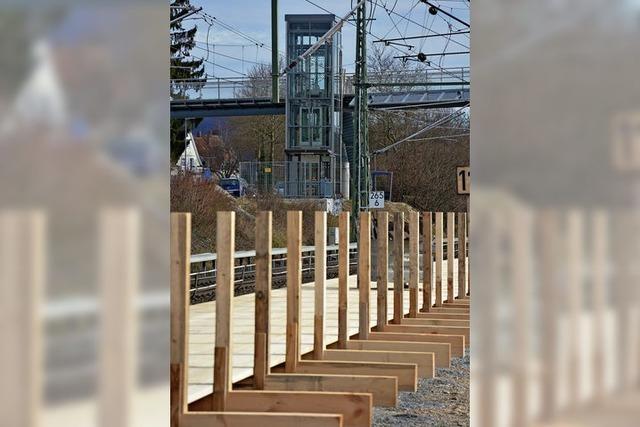 Haltinger Steg geht im April in Betrieb