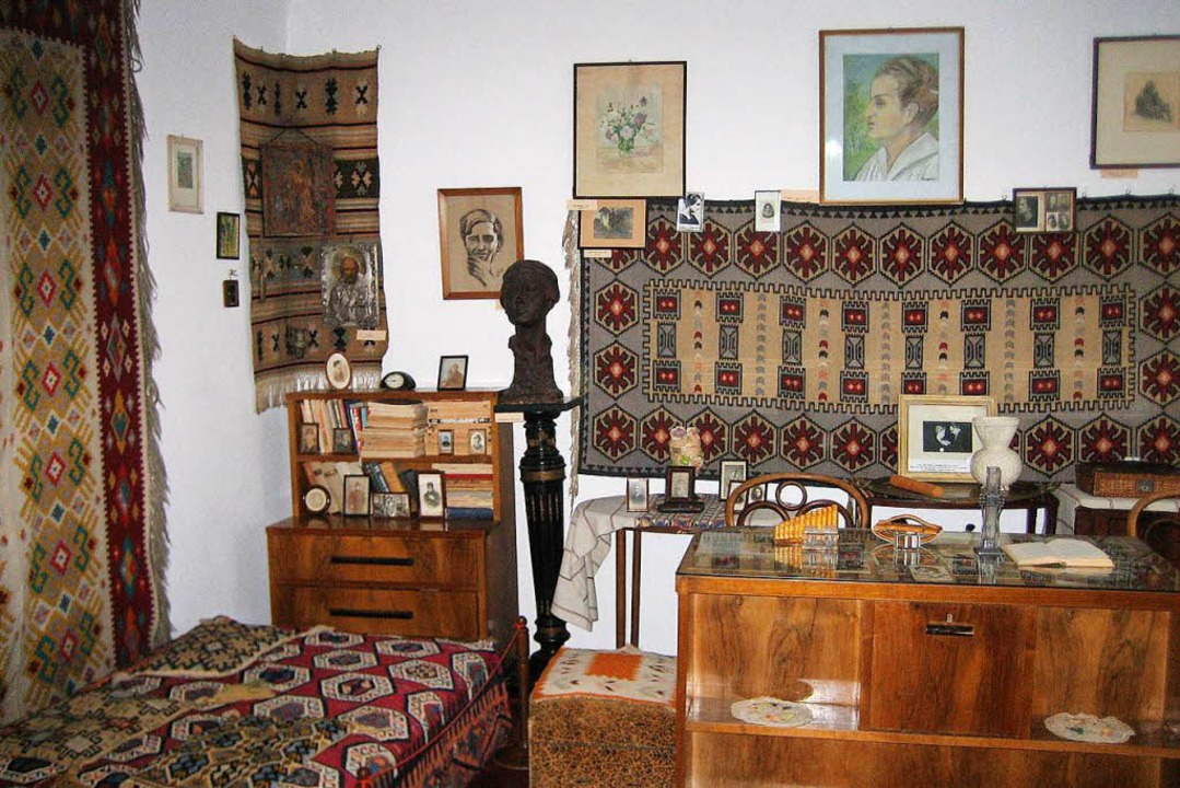 Das Gartenhäuschen der Dichterin: Museum für Otilia Cazimir  | Foto: Hillgruber