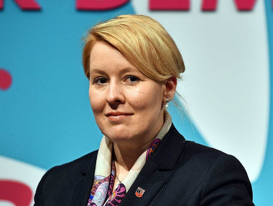 Franziska Giffey soll Familienministerin werden.  | Foto: dpa