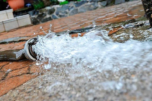 Mehrere Rohrbrüche in der Trinkwasserversorgung von Kandern