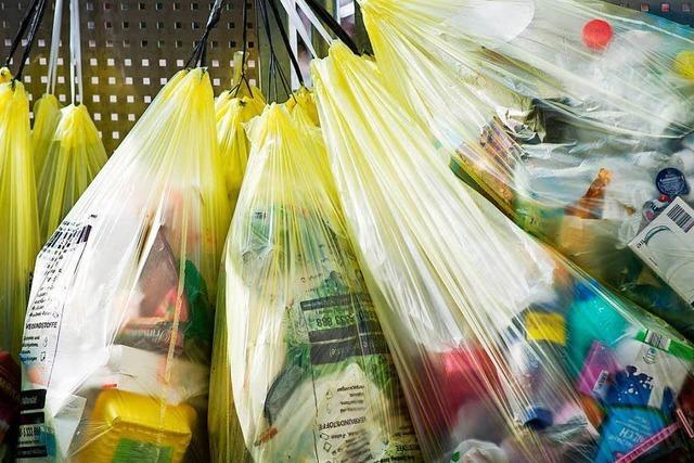Wo der Abfall aus den Lörracher Gelben Säcken landet