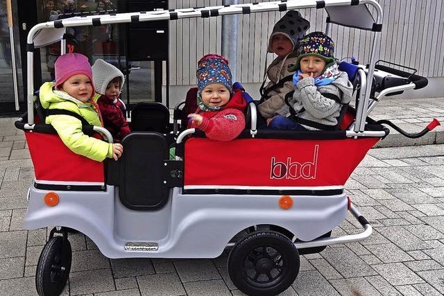 Mit dem Kinderbus stromern