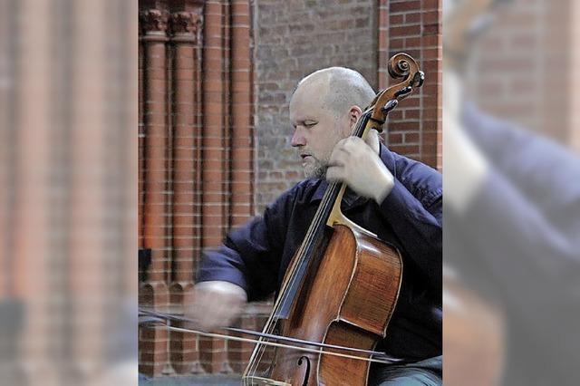 Barockcellist Ludwig Frankmar gibt Solokonzert in Lahr