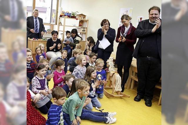 Einweihung im Kindergarten St. Franziskus