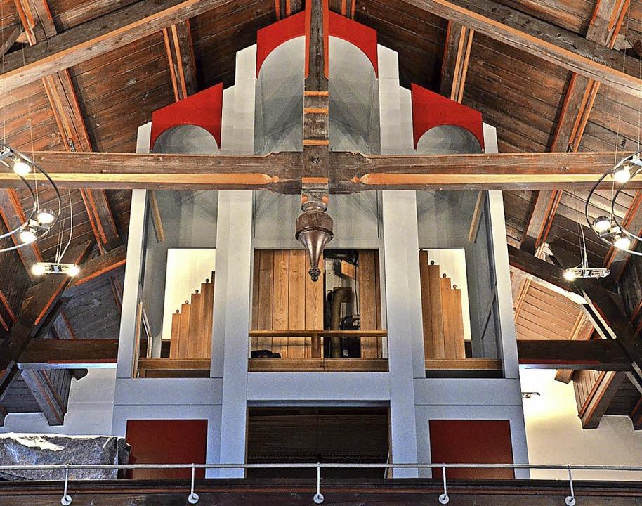 In der evangelischen Christuskirche wird eine neue Orgel eingebaut.  | Foto: Karl Kovacs