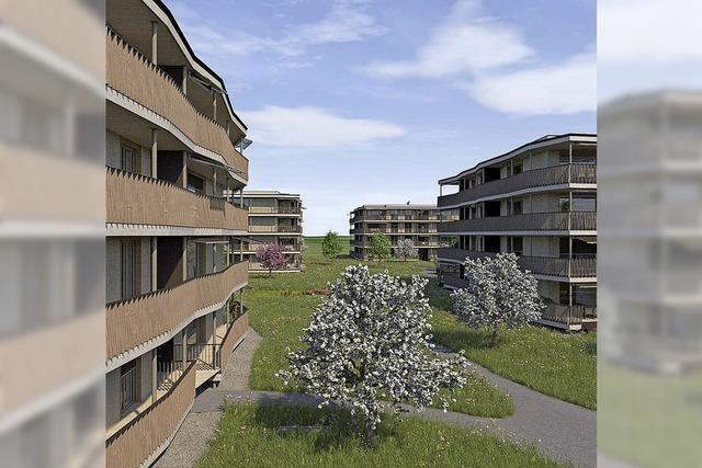 112 neue Wohnungen in Stein bis 2020