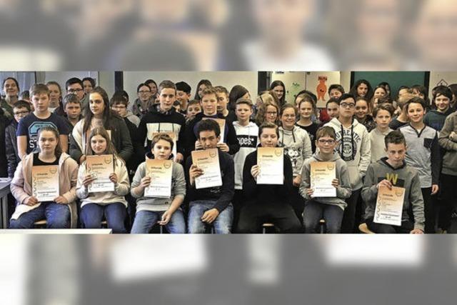 Wettbewerb für Schüler