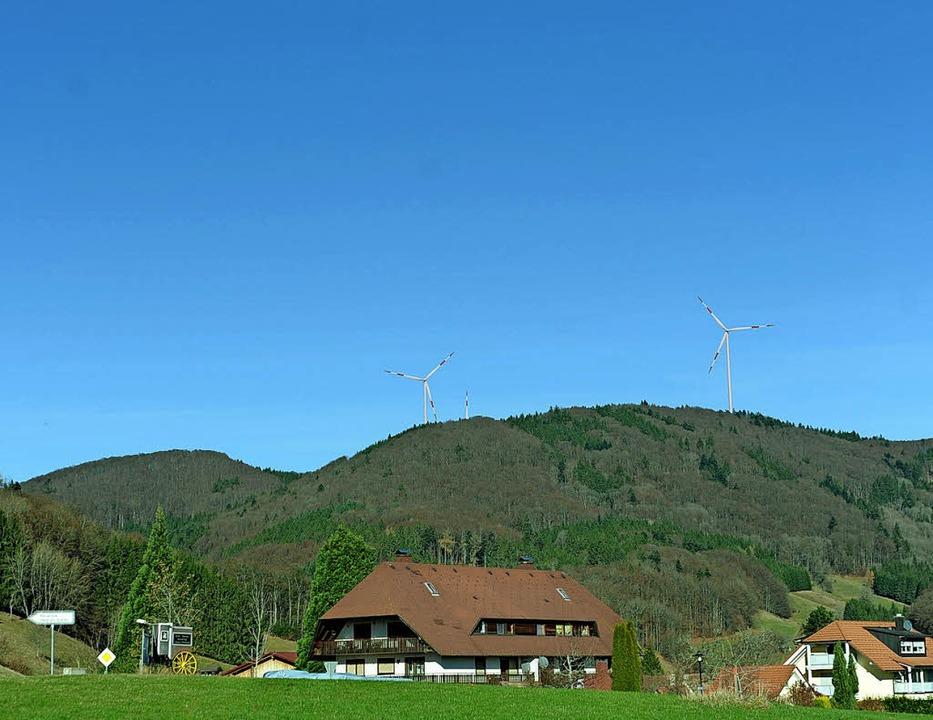 Über den Stand der Dinge beim geplante...von Endenburg aus wahrgenommen werden.  | Foto: Fotomontage:  ZVG