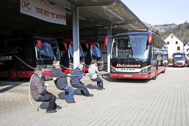 Nicht alle haben das Busziehen gern