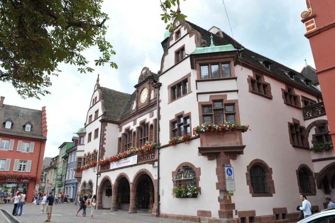 Das Freiburger Rathaus (Archivbild)  | Foto: Rita Eggstein