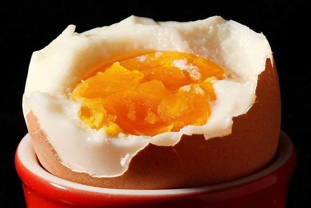 Lassen sich abgeschreckte Eier besser pellen?