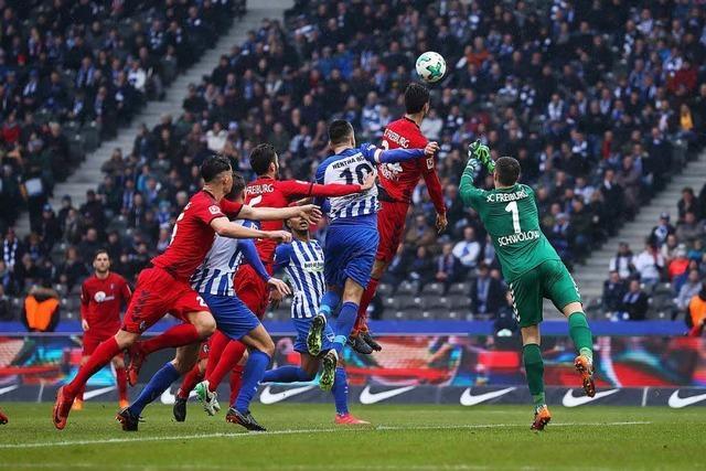 SC Freiburg spielt unentschieden gegen Hertha BSC