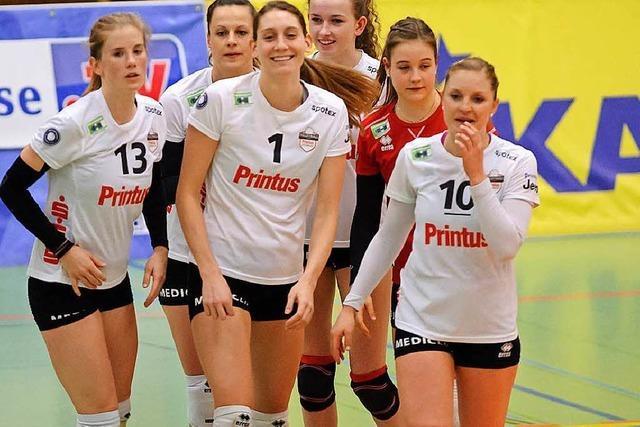 VC Offenburg gewinnt Spitzenspiel in Straubing 3:0 und führt die Liga an
