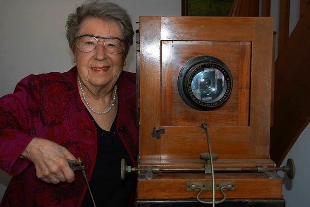 Rheinfelder Fotografenmeisterin Juliane Isele-Riecke wird 90 Jahre alt