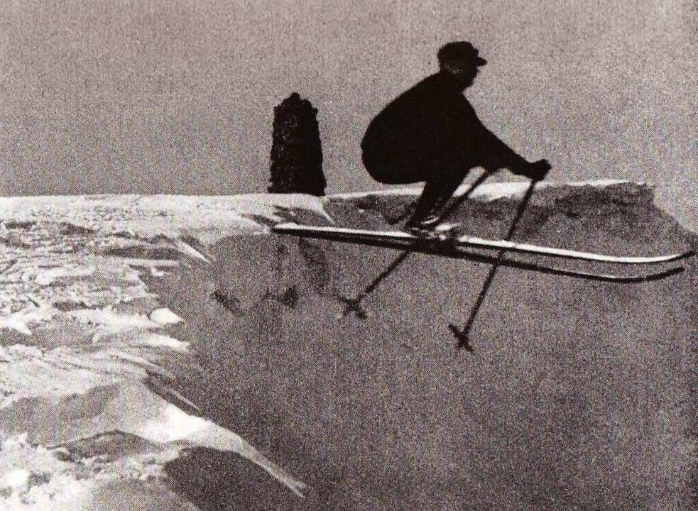 Einer der tollkühnsten Athleten seiner Zeit: Ernst Baader 1920  | Foto: veranstalter