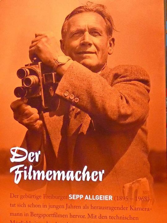 Plakat einer Allgeier-Rückschau in Freiburg  | Foto: Peter Stellmach