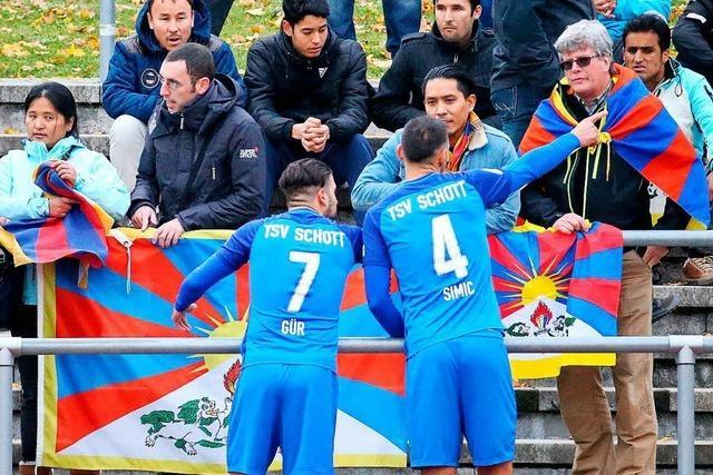 FV Lörrach-Brombach darf doch nicht gegen tibetische Fußballauswahl spielen