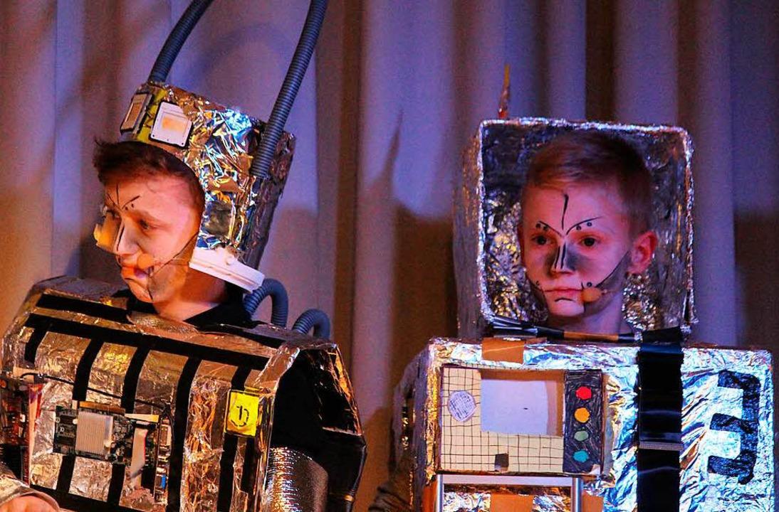 Am Ende müssen sie die Roboter geschlagen geben<ppp></ppp>  | Foto: Martin Klabund