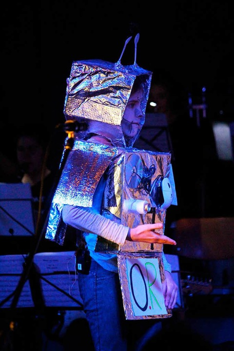 Kinder-Musical Rock'n'Robo...fünften Klassen des Gymnasiums Schönau  | Foto: Martin Klabund