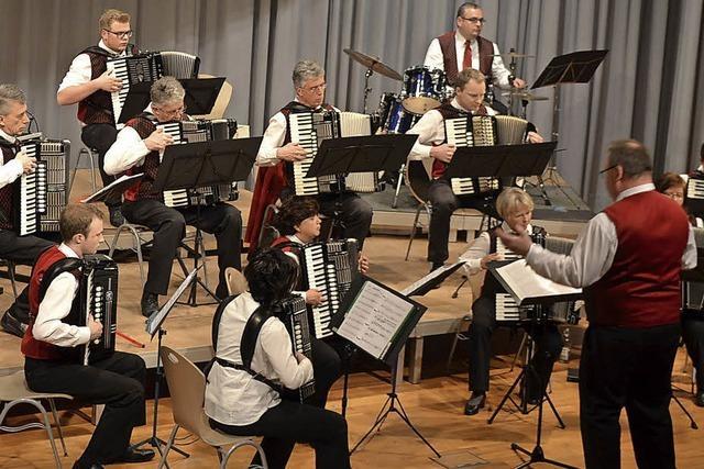Handharmonikaclub Rötenbach in Rötenbach