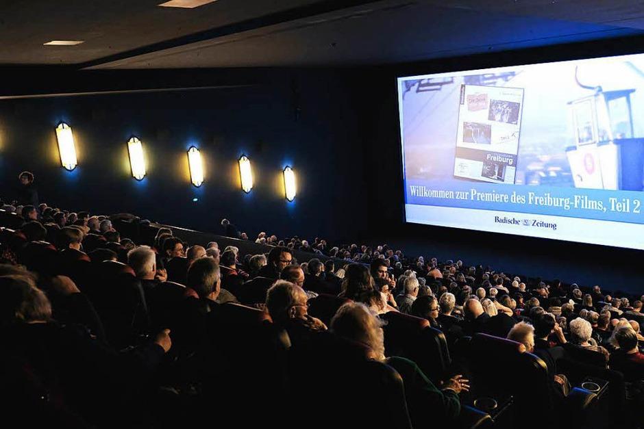 Die 530 Zuschauerinnen und Zuschauer füllten am Sonntagmorgen zwei Säle im Cinemaxx-Kino. (Foto: Miroslav Dakov)