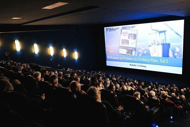 Über 500 Premierengäste sehen den zweiten Freiburg-Film der BZ
