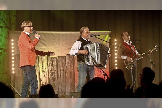 Volksmusikgrößen in der Sternenberghalle