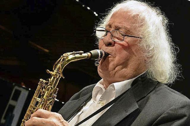 Emil Mangelsdorff mit dem Jazzclub 34 im Offenburger Salmen