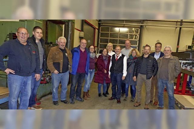 Ortschaftsrat besucht Firma