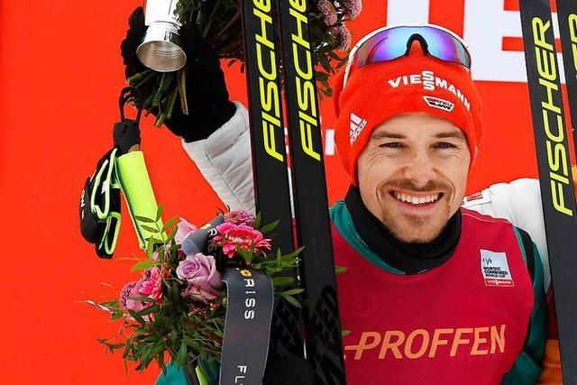 Fabian Rießle aus St. Märgen springt und läuft in Oslo auf Platz zwei