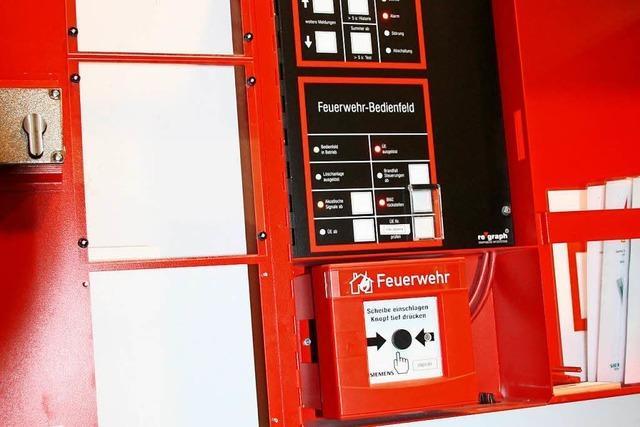 Elektrobrand in einem Stromverteilerkasten