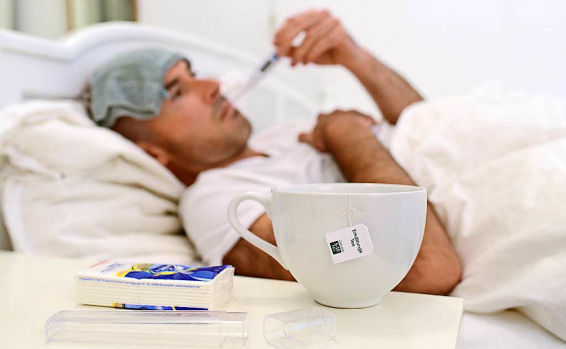 Klischee oder simple Wahrheit? Das Leiden des Mannes im Erkältungsfall  | Foto: dpa