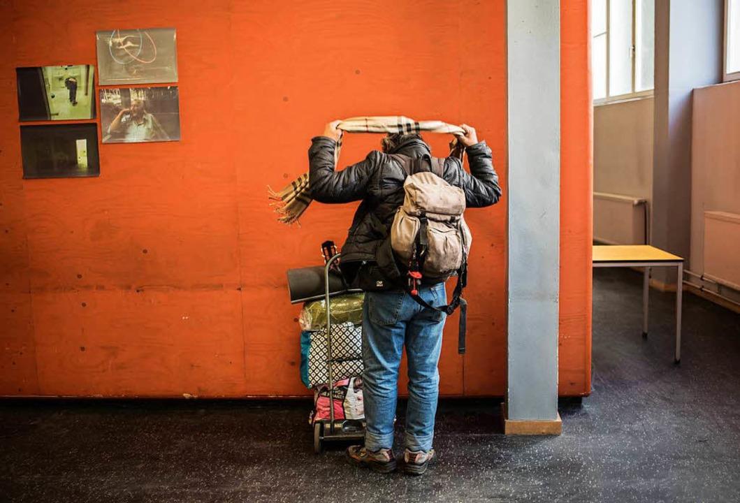 Obdachlosenbetreuung  ist eine Aufgabe...erden, um den Praxisschock zu mindern.  | Foto: dpa