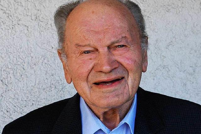 Der Binzener Altbürgermeister Fritz Schweigler ist gestorben