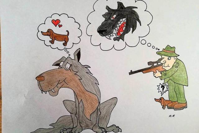 Von Wölfen und Dackeln
