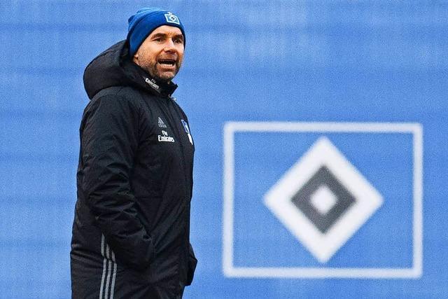 Hamburger SV trennt sich von Trainer Hollerbach