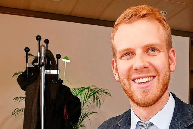 BZ-Interview mit dem Ihringer Bürgermeister Benedikt Eckerle