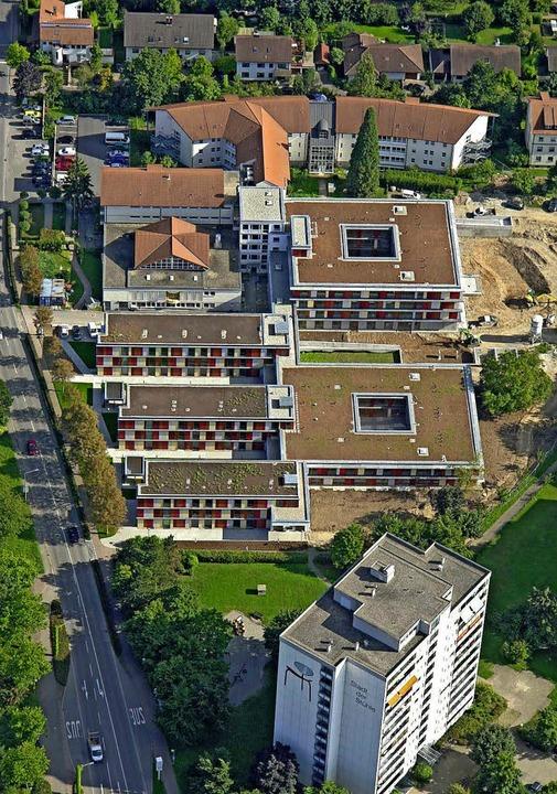 Das Pflegeheim an der Römerstraße braucht mehr Platz.  | Foto: Frei