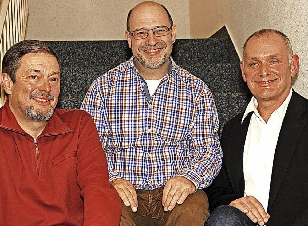Sie sind seit vielen Jahrzehnten aktiv...er, Martin Spießmacher und Horst Guth.  | Foto: Eva Korinth