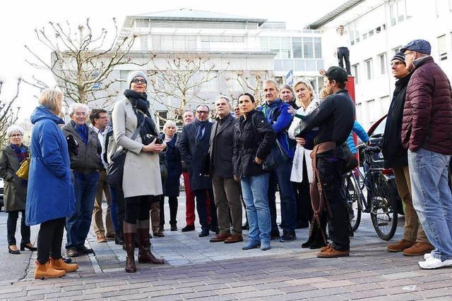 Anlieger wollen die Busse aus der Lörracher Grabenstraße verbannen