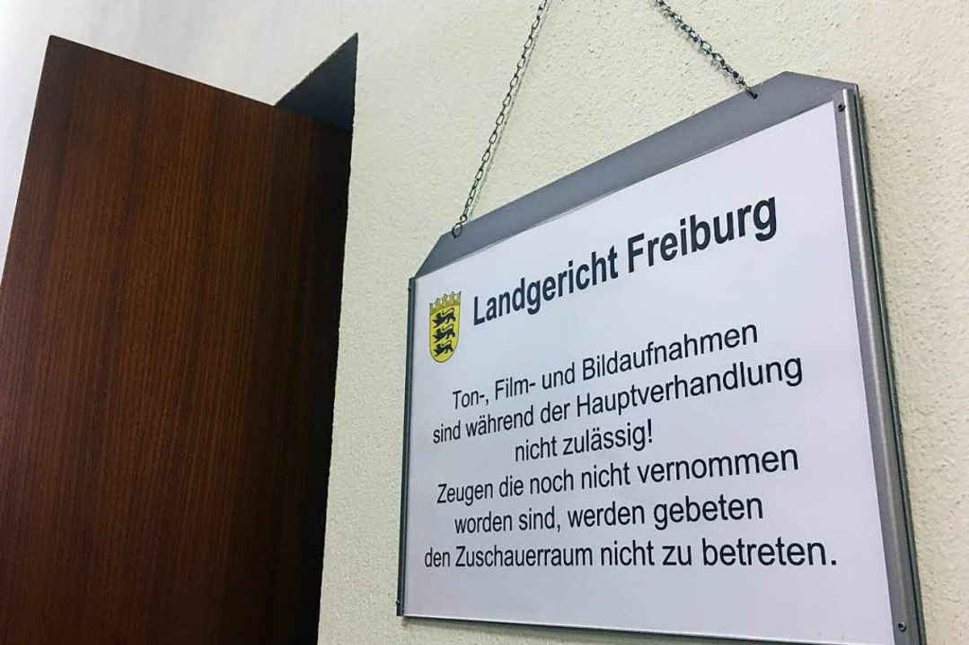 Ton-, Film- und Bildaufnahmen sind untersagt.    Foto: Carolin Buchheim