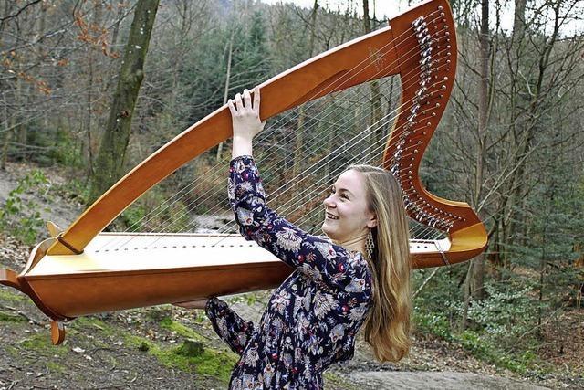 Die Zauberharfe mit Lisa Berg in Kirchzarten