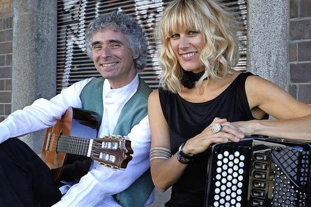 Christine Schmid und Gaetano Siino in Emmendingen