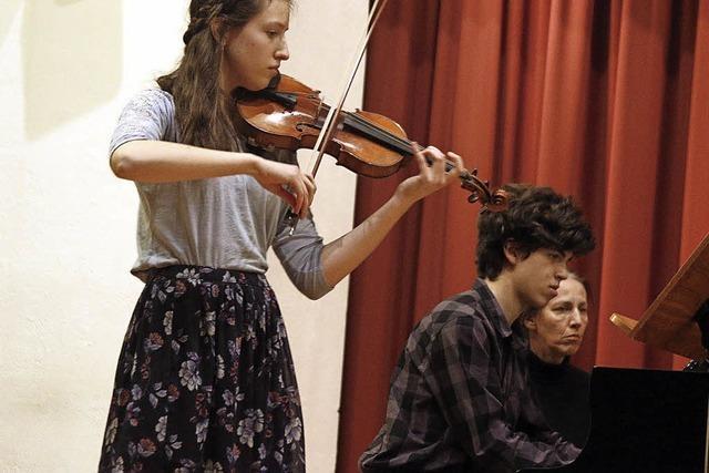 Junge Musiktalente werden geehrt