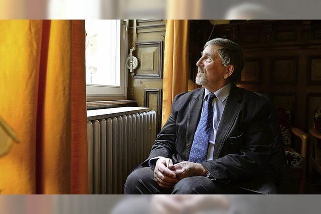 Professor Walter von Lucadou im Gespräch