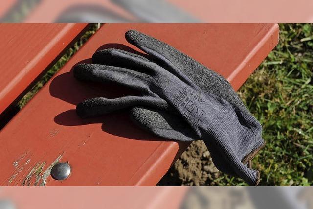 Eine Hommage an den Handschuh
