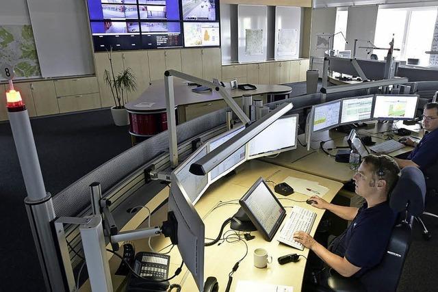 In Schaltzentrale des Rettungsdienstes