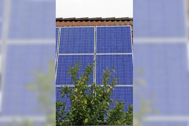 Photovoltaik auf das Dach, Dämmung an die Wände