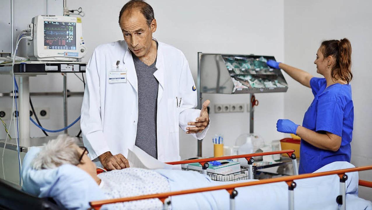 Die Kliniken verzeichnen weiter hohe Fallzahlen.   | Foto: Kreiskliniken
